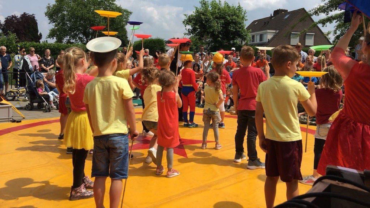 Dagproject basisschool circus circusdag 1
