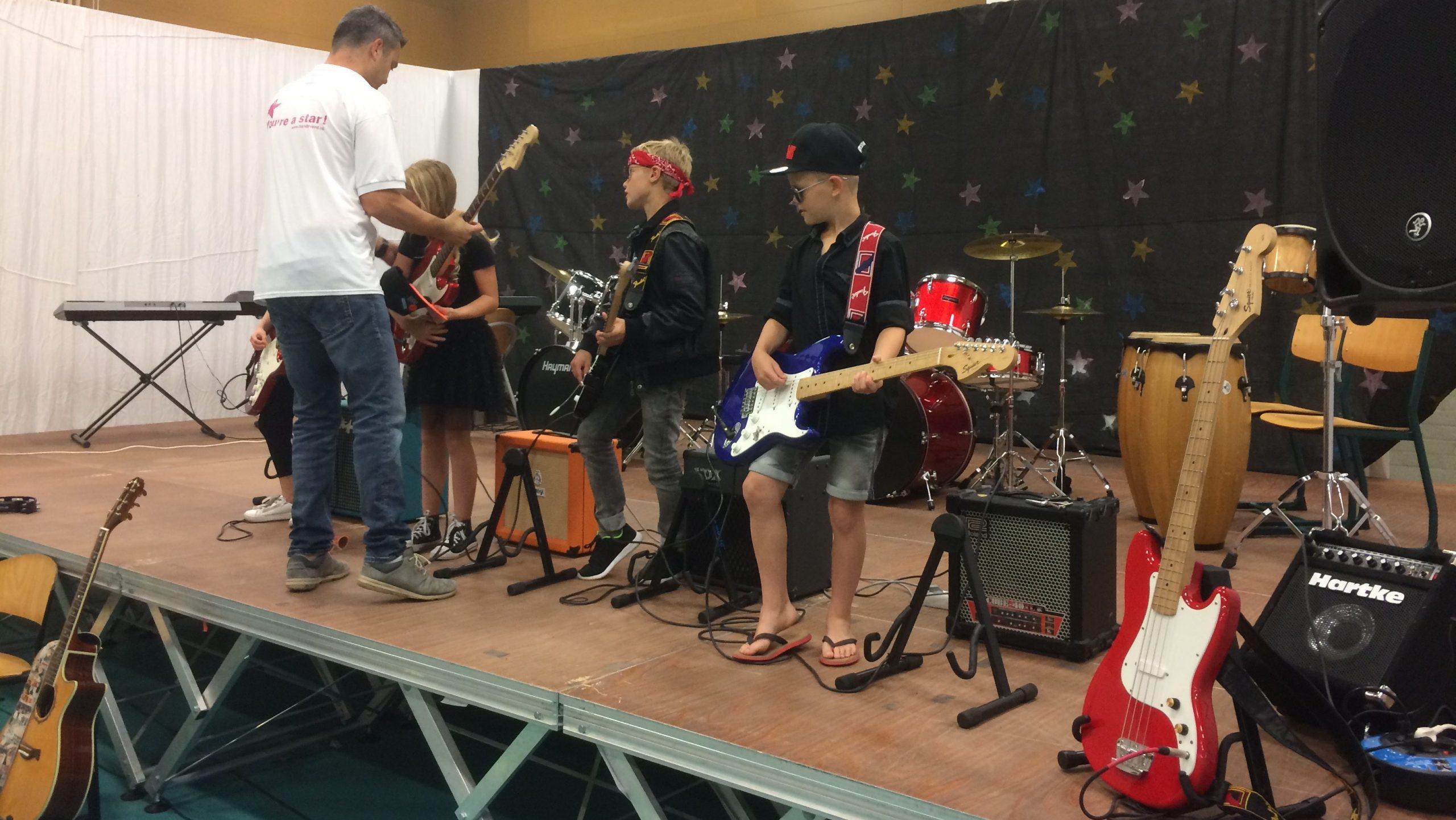 Dagproject basisschool muziek Fame 2