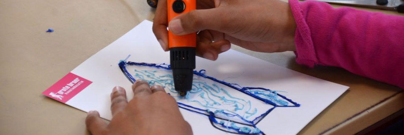 Workshop 3D-printerpen tekenen