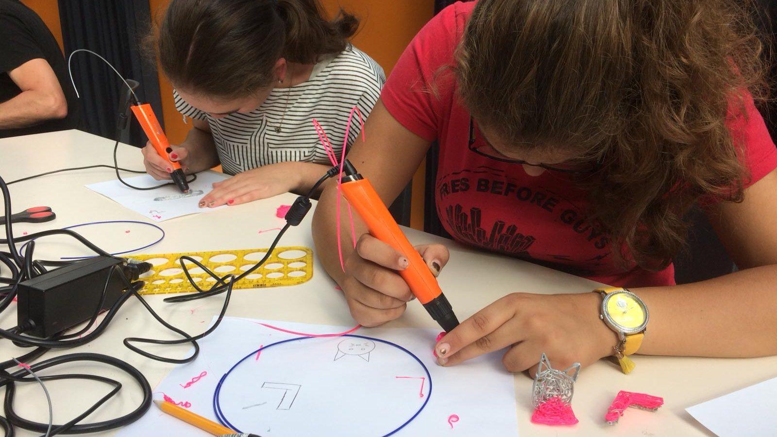 Workshop basisschool 3D printerpen tekenen 9
