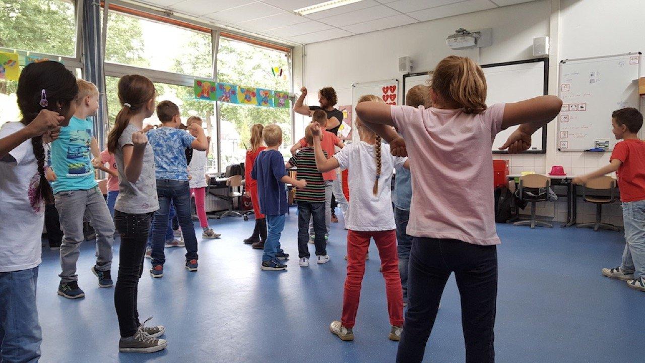 Workshop basisschool Basistheater 1